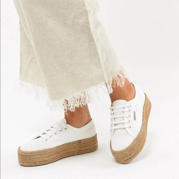 presenting cute best shoes Superga Shoes | Cotropes Woven Platform Shoe Sz 39 Nwot | Poshmark